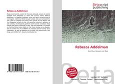 Bookcover of Rebecca Addelman