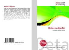 Capa do livro de Rebecca Aguilar