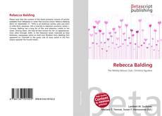 Bookcover of Rebecca Balding