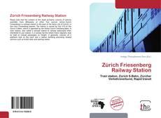 Bookcover of Zürich Friesenberg Railway Station