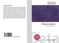 Bookcover of Rebecca Boone