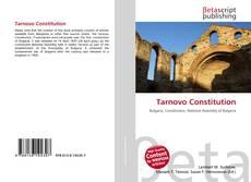Bookcover of Tarnovo Constitution