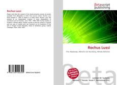 Bookcover of Rochus Lussi