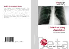 Bookcover of American Lung Association