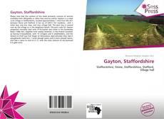 Bookcover of Gayton, Staffordshire