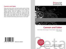 Bookcover of Cannon and Saber