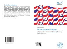 Portada del libro de Drain Commissioner
