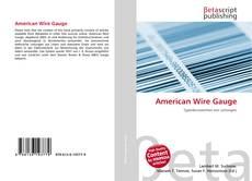 Обложка American Wire Gauge
