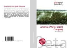 Bookcover of American Water Works Company