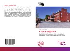 Bookcover of Great Bridgeford