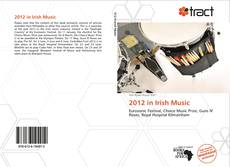 Обложка 2012 in Irish Music
