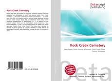 Bookcover of Rock Creek Cemetery