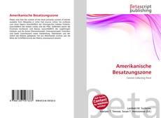 Buchcover von Amerikanische Besatzungszone