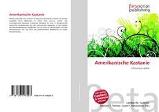 Buchcover von Amerikanische Kastanie
