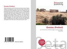 Обложка Orestes (Prefect)