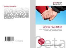 Capa do livro de Sandler Foundation