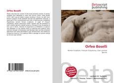 Bookcover of Orfeo Boselli