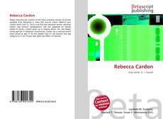 Bookcover of Rebecca Cardon
