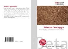 Bookcover of Rebecca Dowbiggin