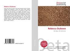 Bookcover of Rebecca Dubowe