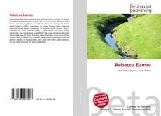 Bookcover of Rebecca Eames