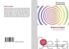 Rebecca Egan kitap kapağı