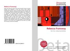 Bookcover of Rebecca Fransway