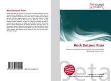 Buchcover von Rock Bottom Riser