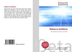 Bookcover of Rebecca Giddens