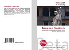 Portada del libro de Tarquinian Conspiracy