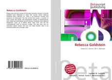 Bookcover of Rebecca Goldstein