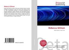 Bookcover of Rebecca Gilman