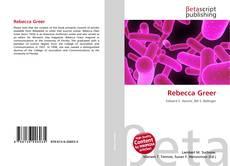Buchcover von Rebecca Greer