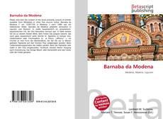 Barnaba da Modena的封面
