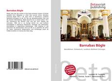 Barnabas Bögle kitap kapağı