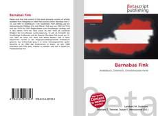 Couverture de Barnabas Fink