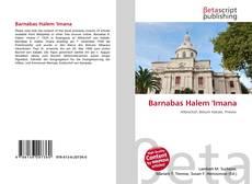 Bookcover of Barnabas Halem 'Imana