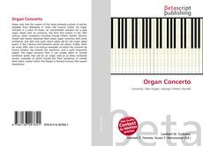 Capa do livro de Organ Concerto