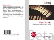 Обложка Organ Grinder