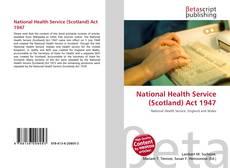 Copertina di National Health Service (Scotland) Act 1947