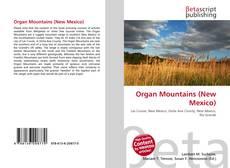 Couverture de Organ Mountains (New Mexico)