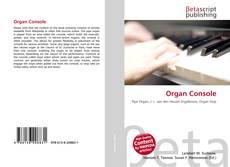 Обложка Organ Console