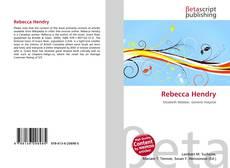Bookcover of Rebecca Hendry