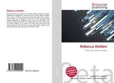 Bookcover of Rebecca Holden