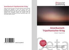 Bookcover of Amerikanisch-Tripolitanischer Krieg