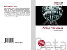 Amicus Productions kitap kapağı