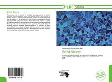 Bookcover of Print Server