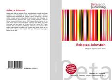 Bookcover of Rebecca Johnston