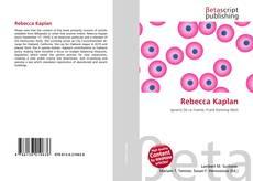 Bookcover of Rebecca Kaplan