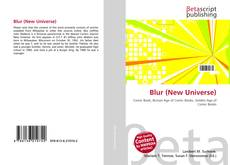 Bookcover of Blur (New Universe)